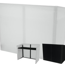 OMNITRONIC Mobile DJ Stand