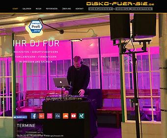 Disko-fuer-Sie.de | Hochzeits-DJ und mobile Diskothek Dresden Sachsen