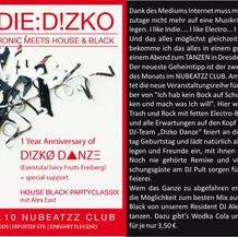 Indie Dizko - Nubeatzz Club Dresden