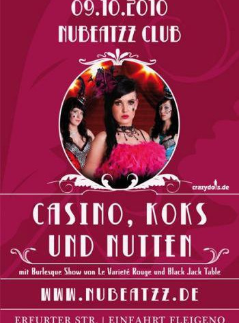 Casino, Koks und Nutten - Nubeatzz Club Dresden
