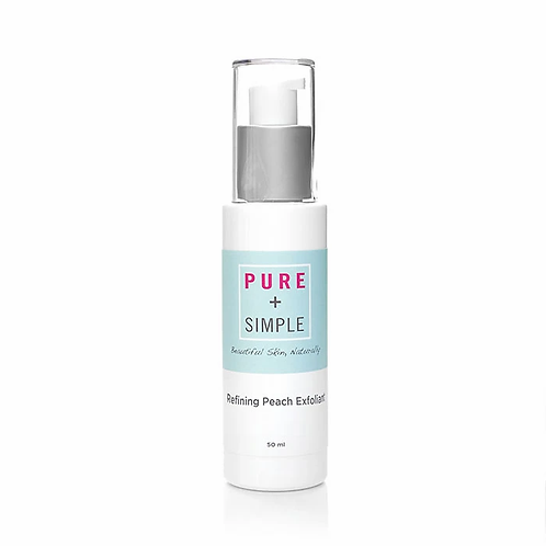 PURE + SIMPLE -  REFINING PEACH EXFOLIANT