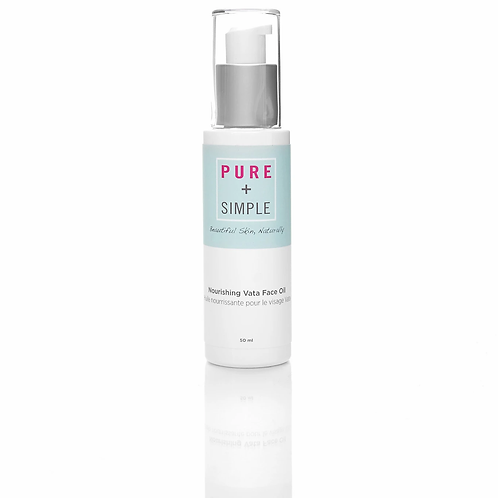 PURE + SIMPLE -  NOURISHING VATA FACE OIL