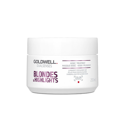 GOLDWELL BLONDES & HIGHLIGHTS 60 SEC. TREATMENT