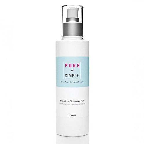 PURE + SIMPLE -  SENSITIVE CLEANSING MILK