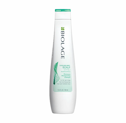 BIOLAGE SCALPSYNC COOLING MINT SHAMPOO FOR OILY HAIR & SCALP