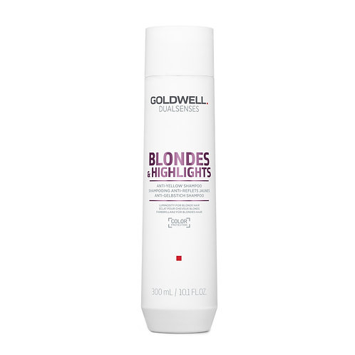 GOLDWELL BLONDES & HIGHLIGHTS ANTI-YELLOW SHAMPOO 300ML