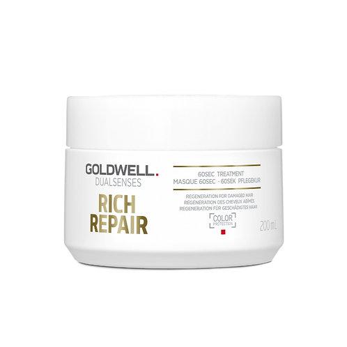 GOLDWELL RICH REPAIR 60SEC TREATMENT
