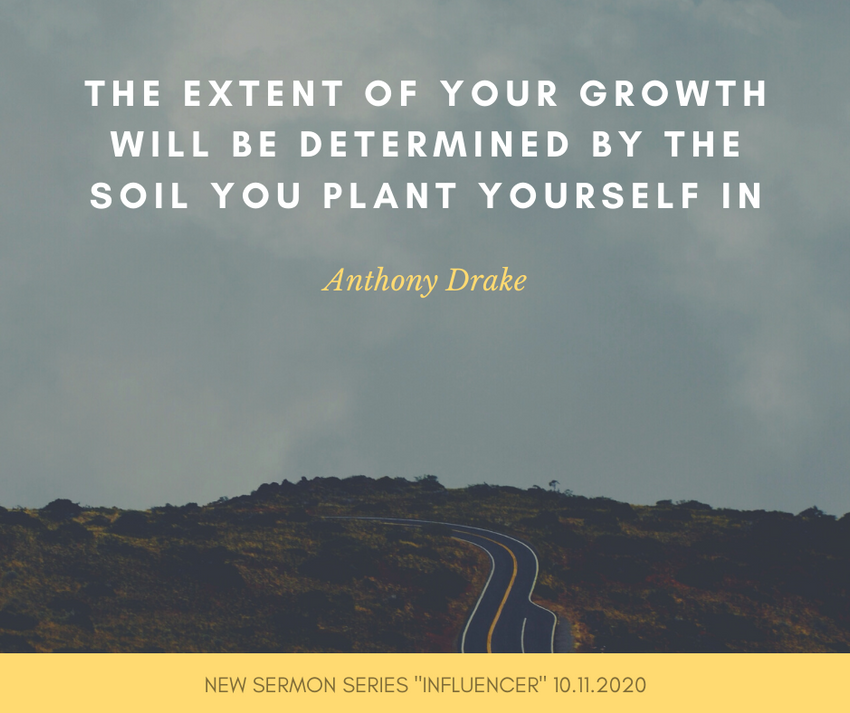 The extent of your growth will be determ