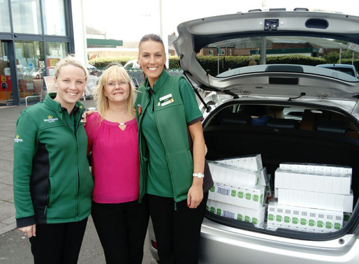 Donations from Morrisons