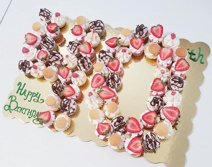 Custom Number/Letter Cakes