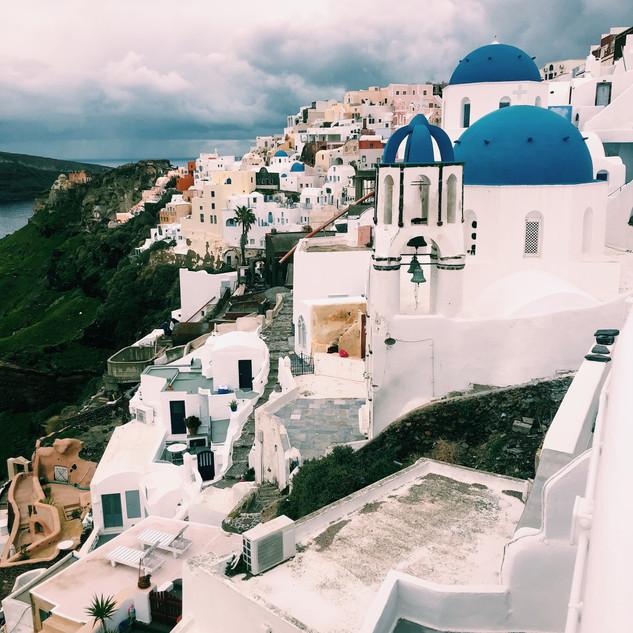 Santorini Buildings