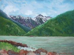 Bella Coola Inlet, 12x9, $325