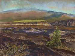 Sunrise in Kīlauea, 12x9, sold