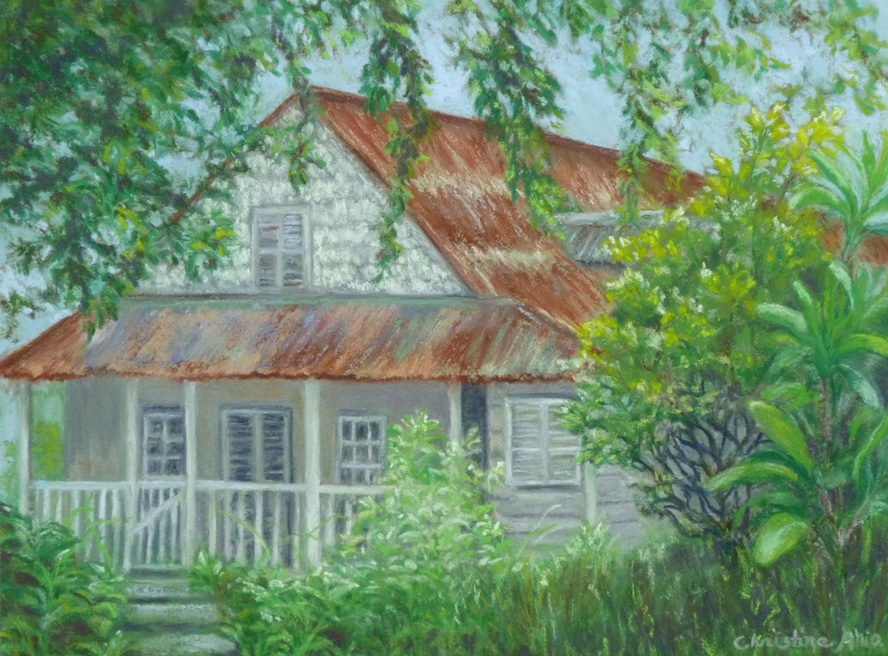 Once a Family Home, 12x9, $
