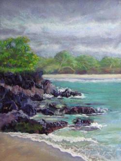 Hapuna Cove, 9x12, $325