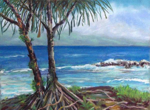 Hala by the Bay, 12x9, $325