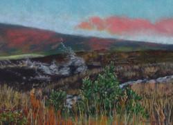 Kīlauea Sunrise II, 12x9, $325