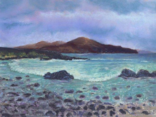 Ocean Lei, 12x9, $325