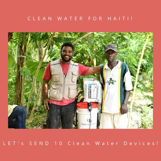 Clean Water for Haiti-Fundraiser