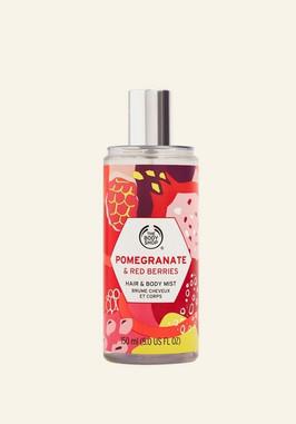 Pomegranate & Red Berries Hair & Body Mist 5.0 FL OZ