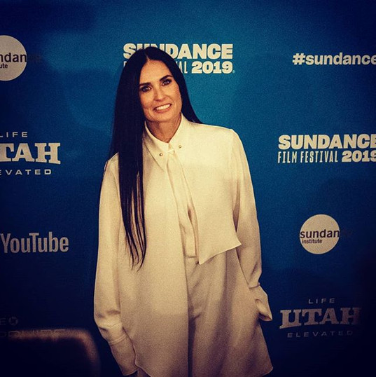Actress #DemiMoore at the world premiere