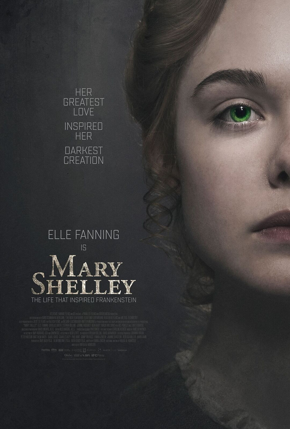 Mary Shelley coming out May 25th!
