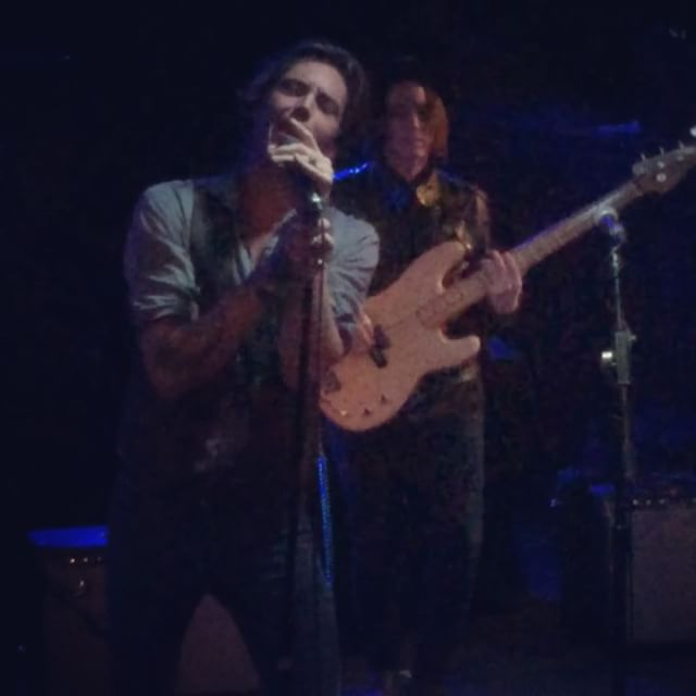 _mounthollyband performing at Ottobar last night opening for #JimmyGnecco and #Ours