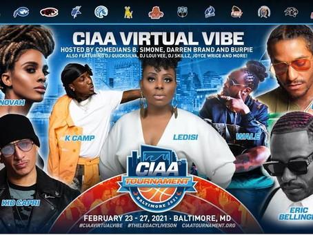 COUNTDOWN TO THE 2021 CIAA VIRTUAL VIBE! FEBRUARY 23 - 27