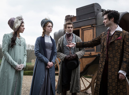 MARY SHELLEY starring Elle Fanning comes out May 25th!