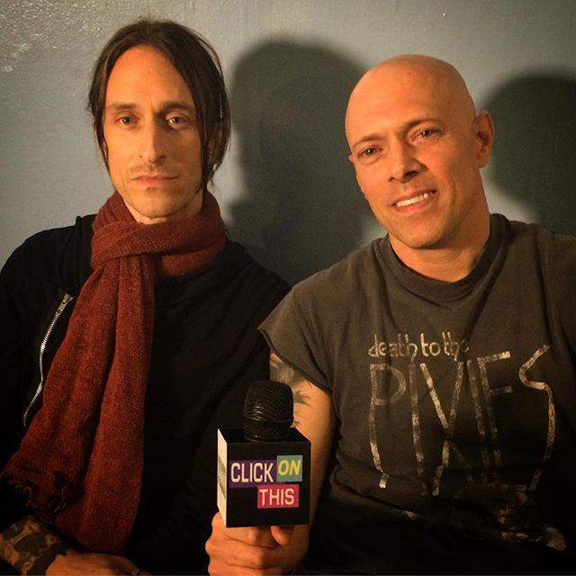 Host Flex with _jimmygneccoofficial at the _theottobar after the #clickonthis interview! Thank you so much for your interview!