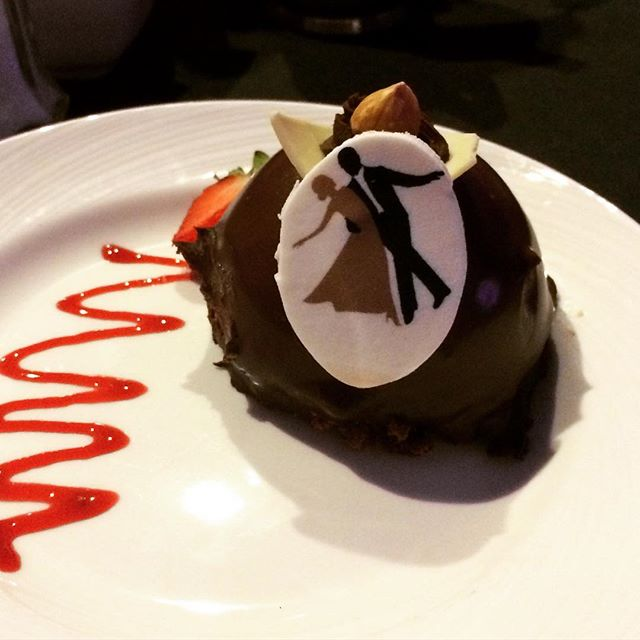 One of our desserts at #dcsdancingstarsgala #dancing #dc #sheraton