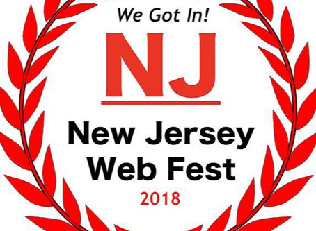 We WON at the New Jersey Web Fest!! Best Host and Best Unscripted!
