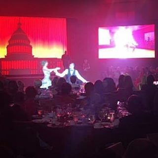 Contestants danced for charity last night during the #dcsdancingstarsgala #dc #dance #charity