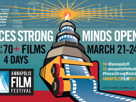 7th Annual Annapolis Film Festival Releases Four-Day Full Film Slate More than 70 Films from over 25