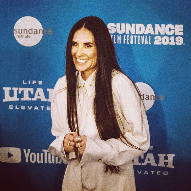 Actress #DemiMoore looking stunning at w