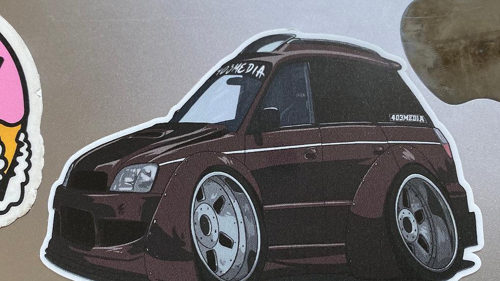Legacy GTB sticker