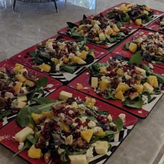 Healthy meals with local ingredients!