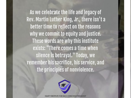 Martin Luther King, Jr. Day, January 18, 2021