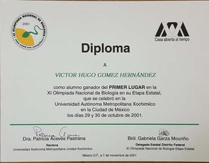 onceava-olimpiada-nacional-de-biologia-primer-lugar-diploma-2001-ingeniero-biotecnologo-victor-hugo-gomez-hernandez.jpg