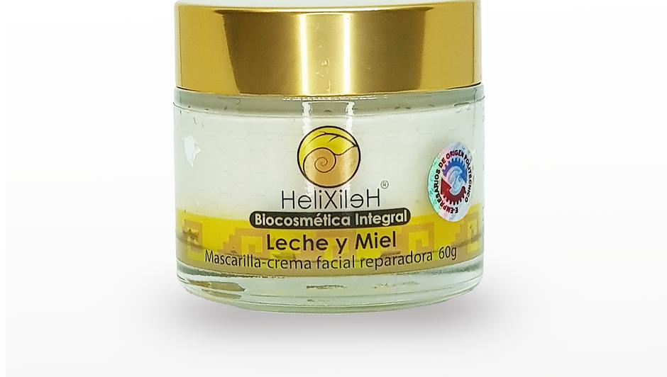 Mascarilla Crema de Leche y Miel