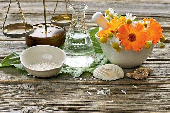 botánica, mortero, flores