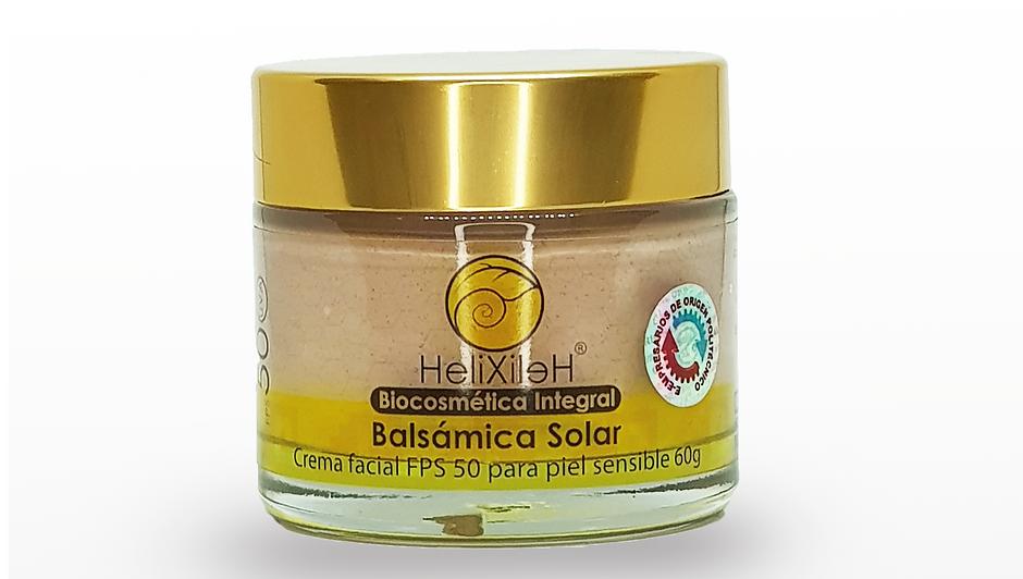 Crema Facial de Día Balsámica Solar FPS 50