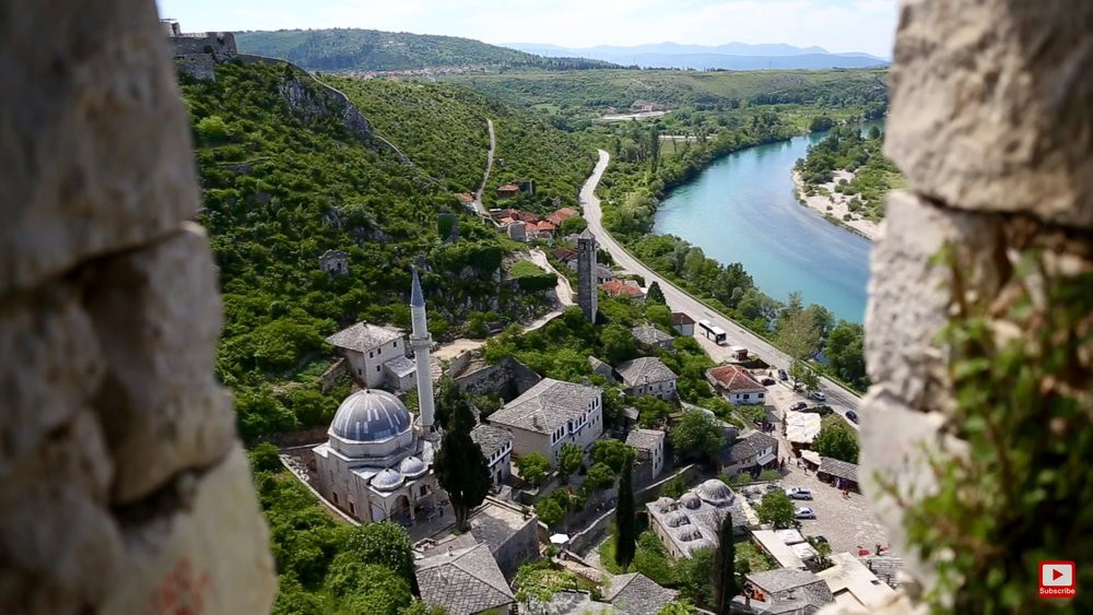 View of The Medieval Town of Pocitelj, Bosnia & Herzegovina