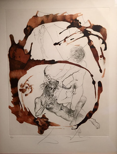 Salvador Dali original signed and numbered