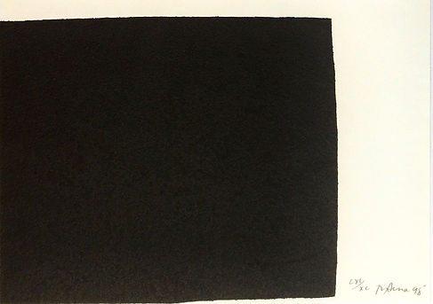 Richard Serra Original Signed and Numbered