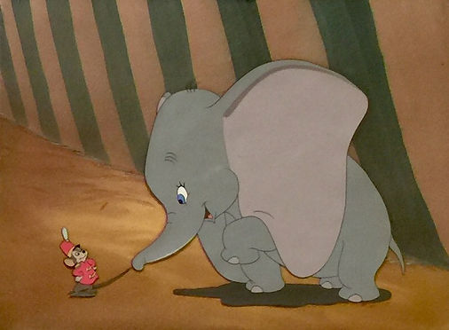 Walt Disney Dumbo Original Production Animation Cel