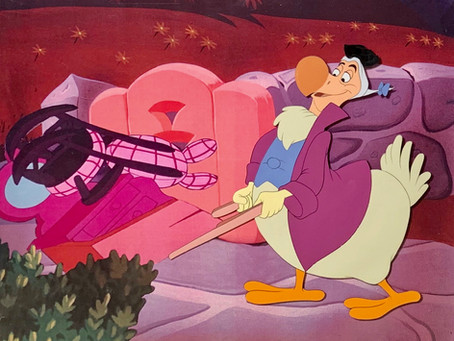 Original Walt Disney Cel of Dodo from Alice In Wonderland