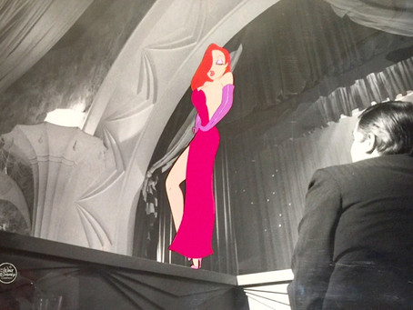"Original Production Animation Cel of Jessica Rabbit from ""Who Framed Roger Rabbit?,"" 1988"