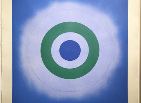 """Untitled,"" 2009 by Kenneth Noland"