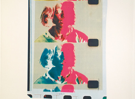 """""""Eric Emerson (Chelsea Girls),"""" 1982 by Andy Warhol"""